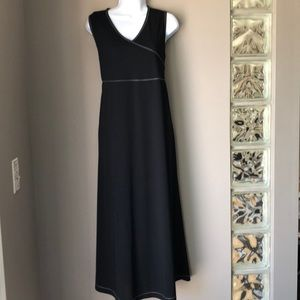 Tomorrow's Mother Black Maternity Maxi  Dress sz S